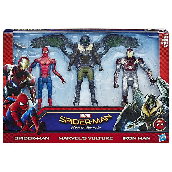 Spider-Man Homecoming Web City 6-inch Action Figure 3-Pack - Nerd Arena