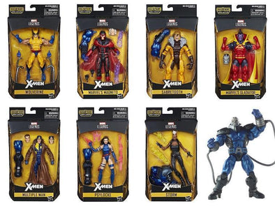 X-Men Marvel Legends Wave 3 Set of 7 (Apocalypse BAF) - Nerd Arena