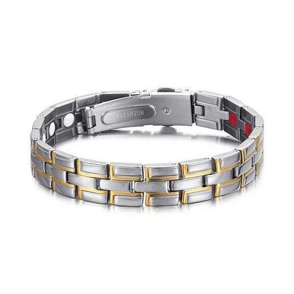 Silver and Gold Plated Hologram Bracelet