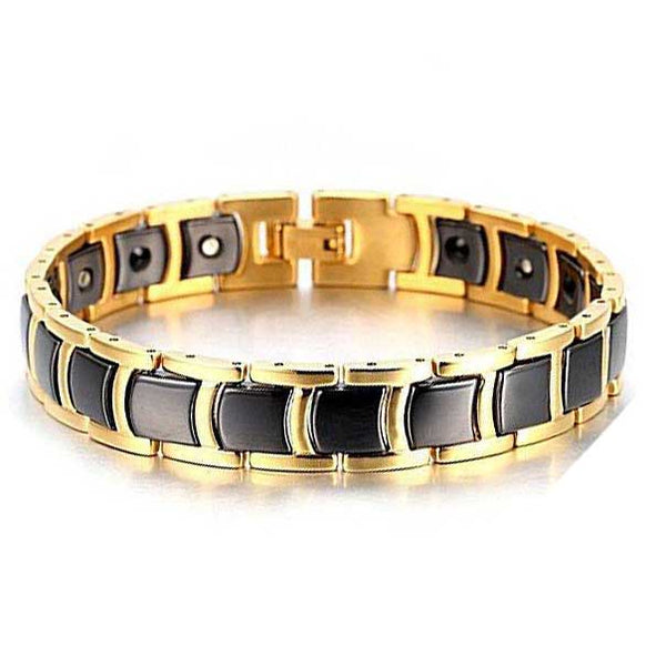Tungsten Carbide Bracelet for Magnetic Therapy