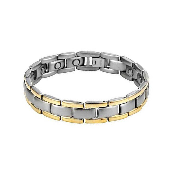Two-Tone adjustable Magnetic Therapy Bracelet