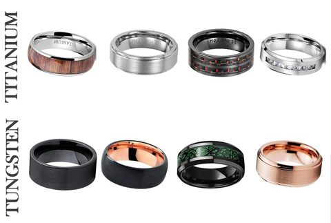 Titanium vs Tungsten Rings - All You Need to Know