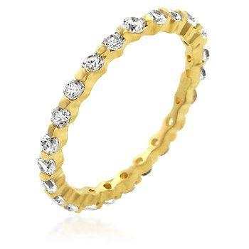 Golden Lace Eternity Band