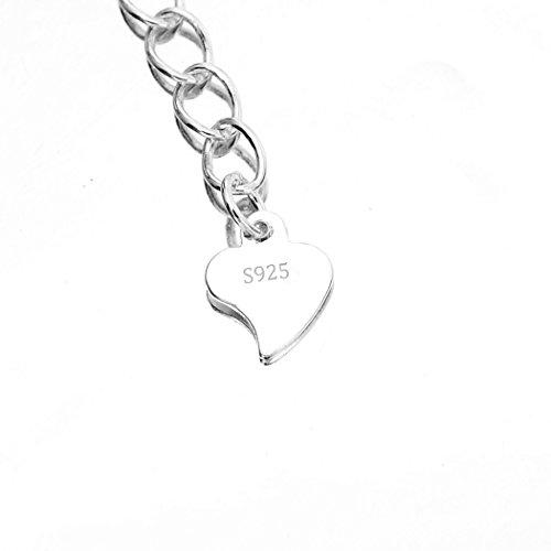 925 Sterling Silver New Jingle Bell Ball Round Bead Adjustable Hand Chain Bracelet