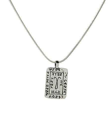 King Solomon Zodiac Sign ARIES Amulet in Sterling Silver for Men & Women on  19 Snake Chain