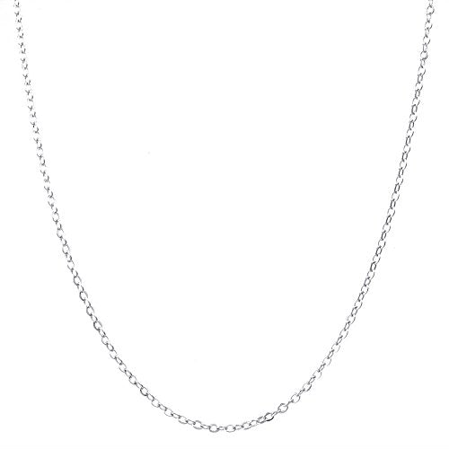 Women Cubic Zirconia Ball 925 Sterling Silver Pendant Necklace, 20 inch Chain, Silver - InnovatoDesign