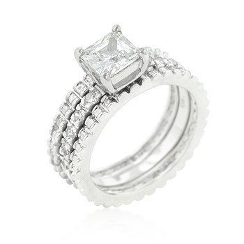 Bridal Triple Ring Set