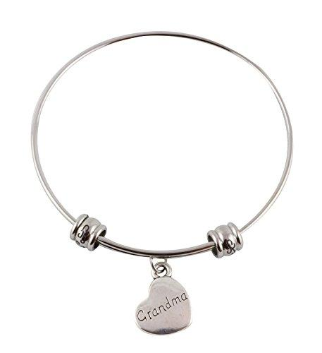 Grandma Heart Fancy Bangle