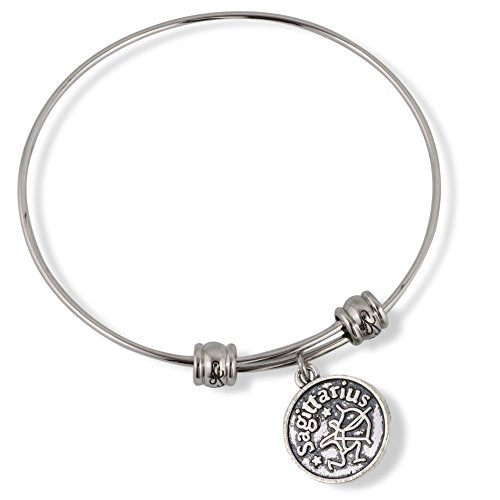 Sagittarius Horoscope Astrology Fancy Bangle - InnovatoDesign