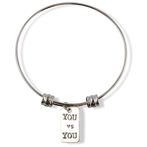 You vs You Fancy Charm Bangle - InnovatoDesign
