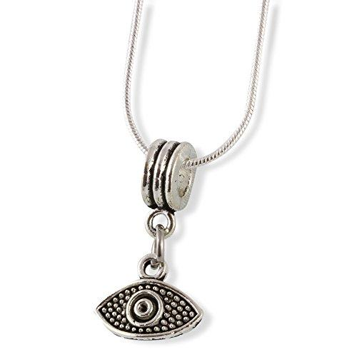 Evil Eye Snake Chain Necklace