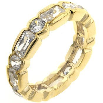 Juliette Eternity Ring - InnovatoDesign