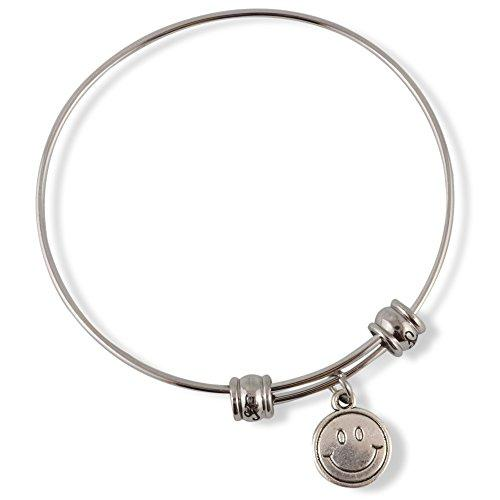 Happy Face Fancy Bangle