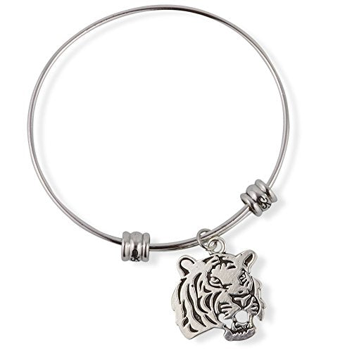 Tiger Head Fancy Bangle - InnovatoDesign