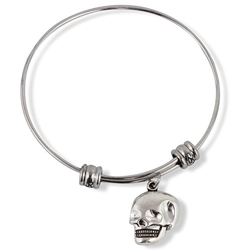 Skull Smiling Fancy Bangle - InnovatoDesign