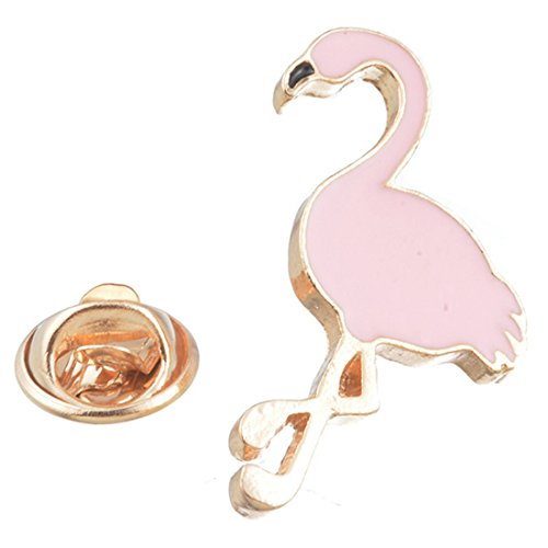 Novelty Cartoon Pink Swan Brooch Pin for Women and Girls - InnovatoDesign