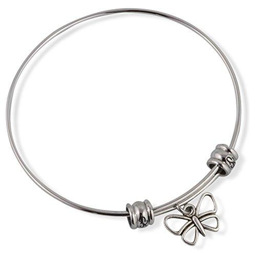 Butterfly ( Outline ) Fancy Bangle
