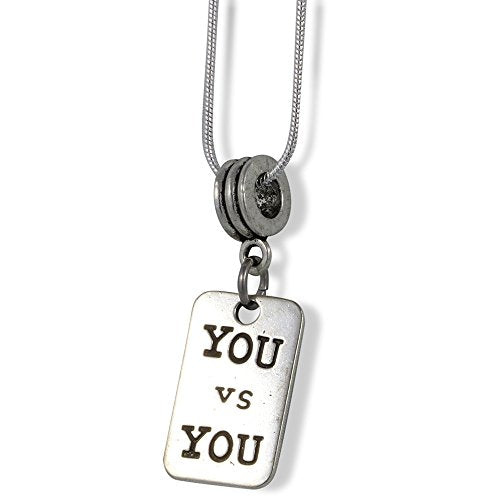 You vs You Charm Snake Chain Necklace