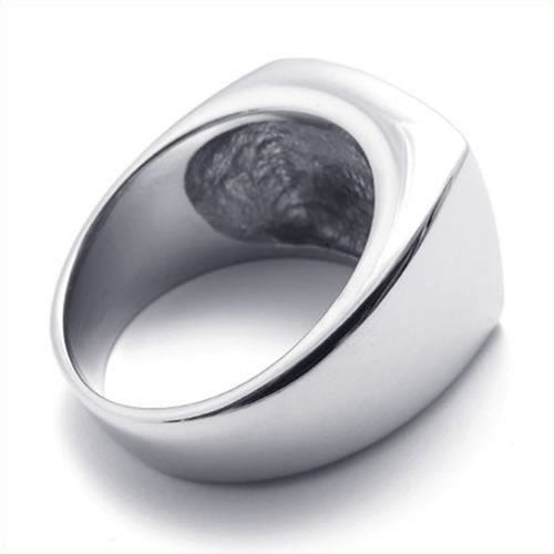 Men Stainless Steel Hawk Eagle Ring