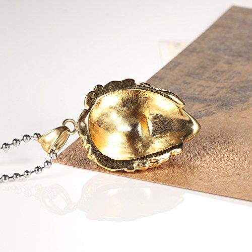 14k Gold Plating Stainless Steel Lion Head Pendant Necklace+free Ball Chain 24 Inches,silver Gold