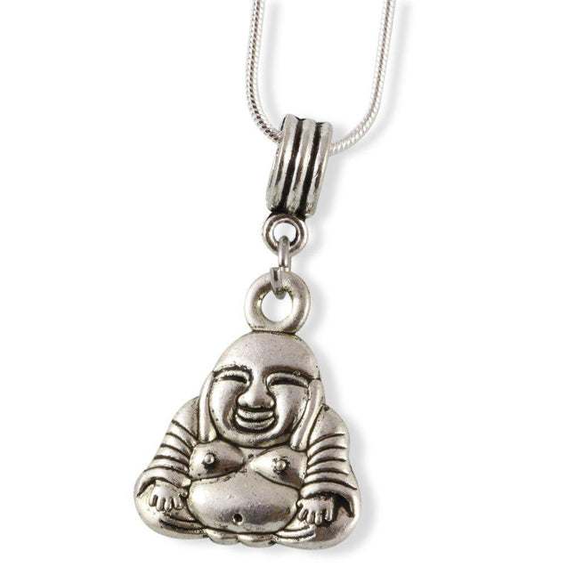 Buddha Large 3D Snake Chain Necklace