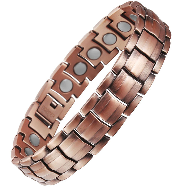 Extra Strong Titanium Magnetic Bracelet for Pain Relief Adjusting Tool & Gift Box Included