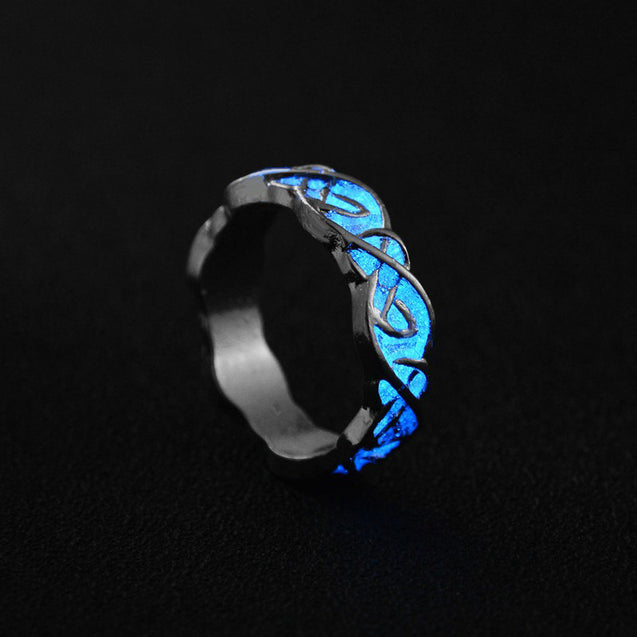 Luminous Glow in the Dark Rings in 7 Designs