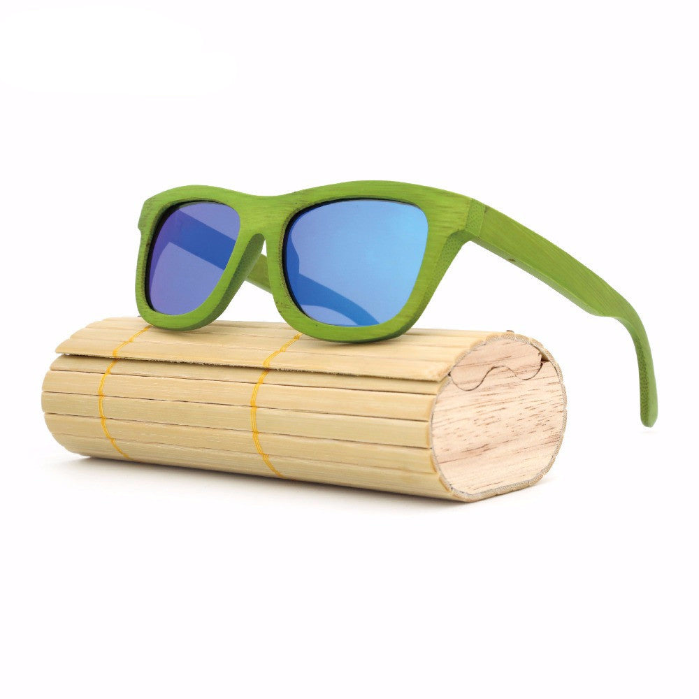 Luxury Unisex Wooden Bamboo Sunglasses Polarized UV400