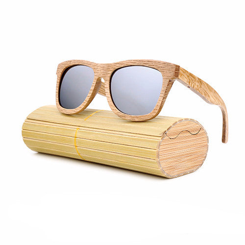 Men's Luxury Wooden Sunglasses Polarized Real Bamboo Wood
