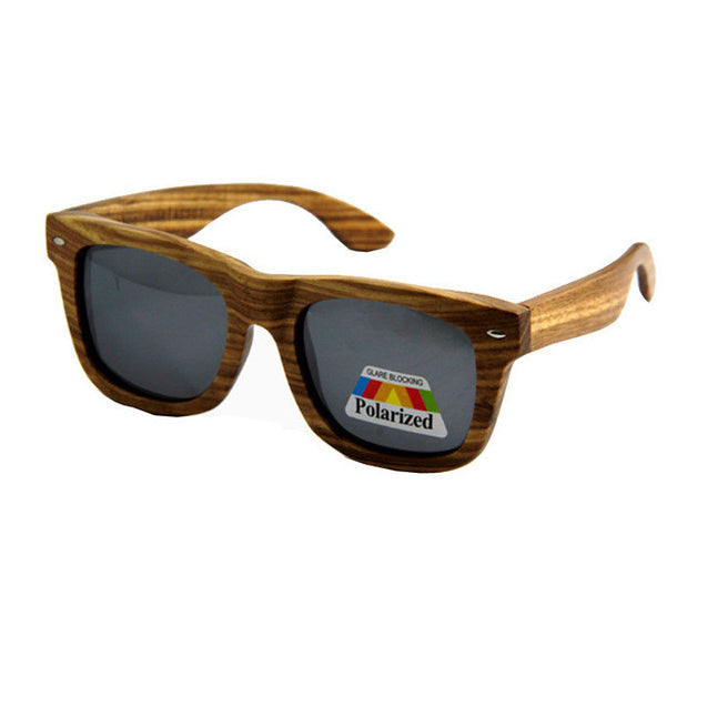 Men's Luxury Wooden Polarized Sunglasses in 14 Colors - InnovatoDesign