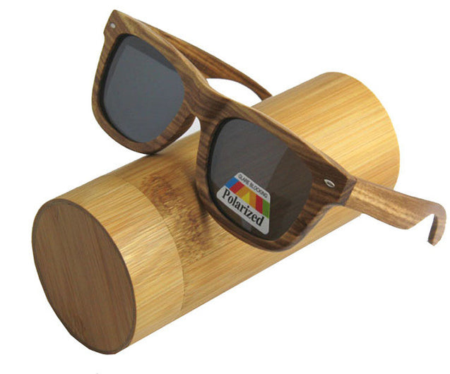 Men's Luxury Wooden Polarized Sunglasses in 14 Colors