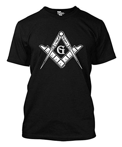 Freemason Logo - Square & Compass Symbol Men's T-shirt