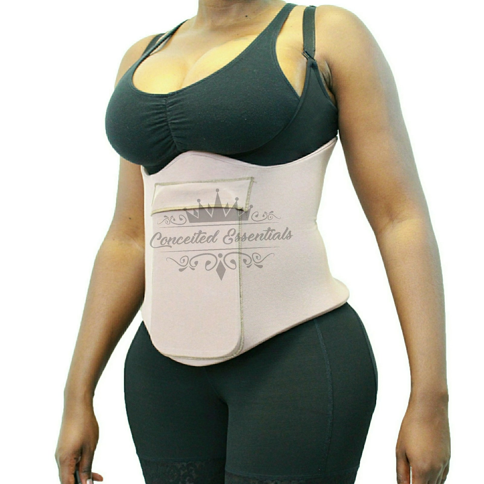 Wrap Around Lipo Foam w/ Detachable Ab Board, 360 Degree Average Torso  Liposuction Foam