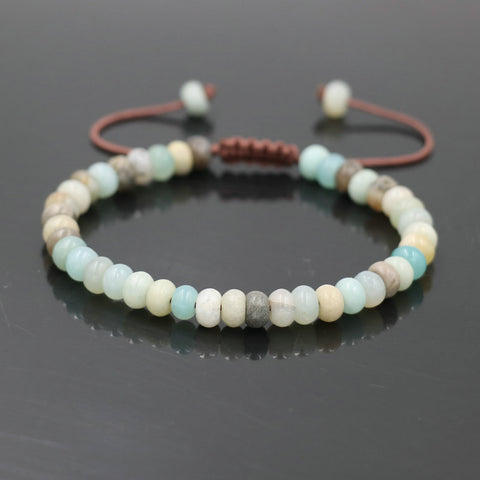 Natural Stone Beads Bracelet, Beads, Majestic Jewelry Co.