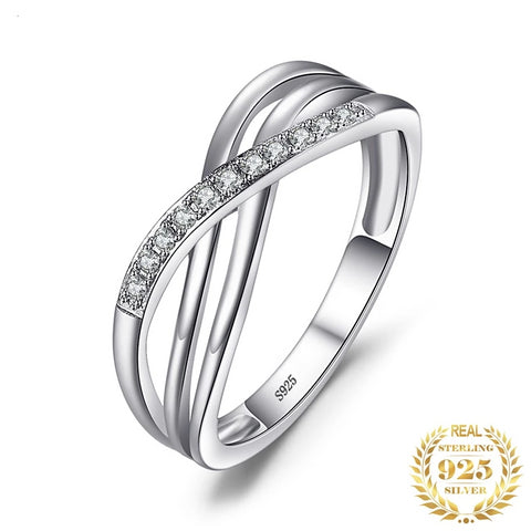 925 Sterling Silver Infinity Wedding, Rings, Majestic Jewelry Co.