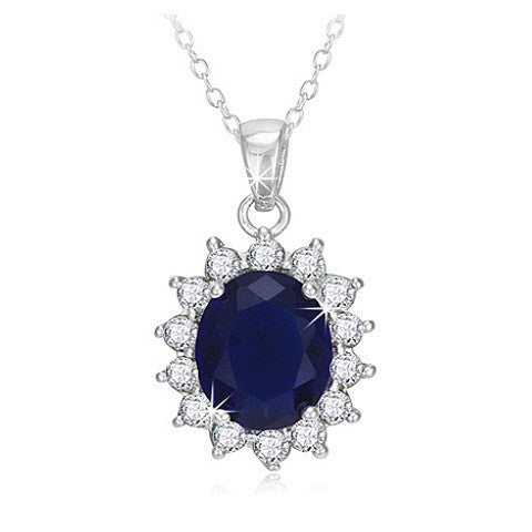 Princess Diana Pendant- No chain, Chains with Pendant, Pandora's Jewels Inc.