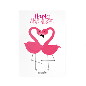 HAPPY ANNIVERSARY POSTCARD