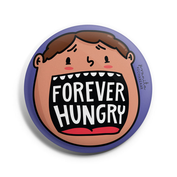 HUNGRY BADGE + MAGNET