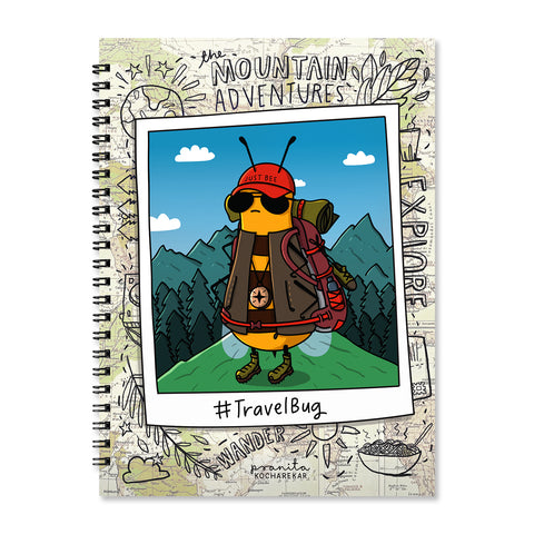 TRAVEL BUG NOTEBOOK