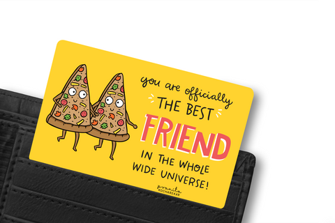 BEST FRIEND WALLET CARD