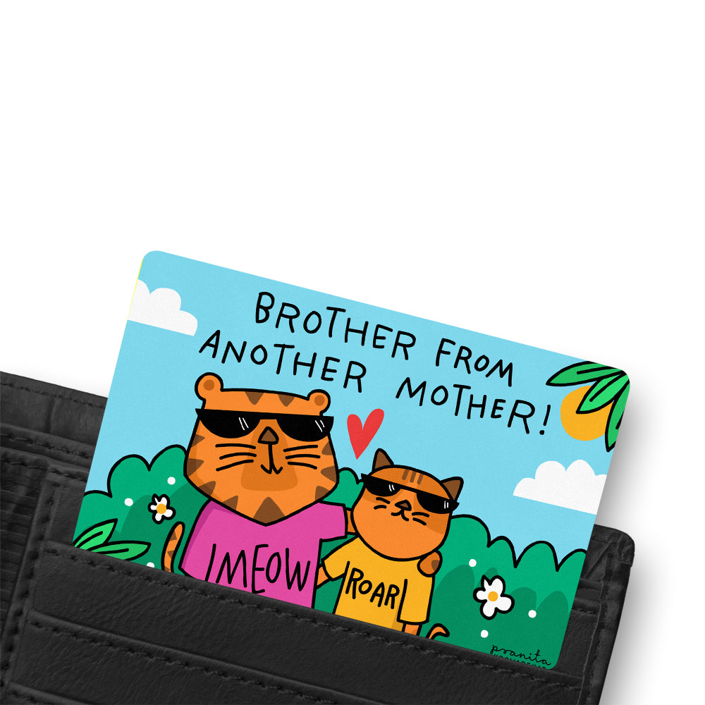 BROTHER FRIEND WALLET CARD