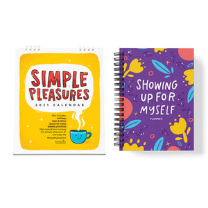PRE-ORDER COMBO / 2021 CALENDAR + UNDATED PLANNER