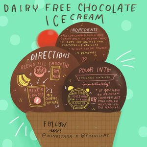 DAIRY FREE CHOCOLATE ICECREAM RECIPE