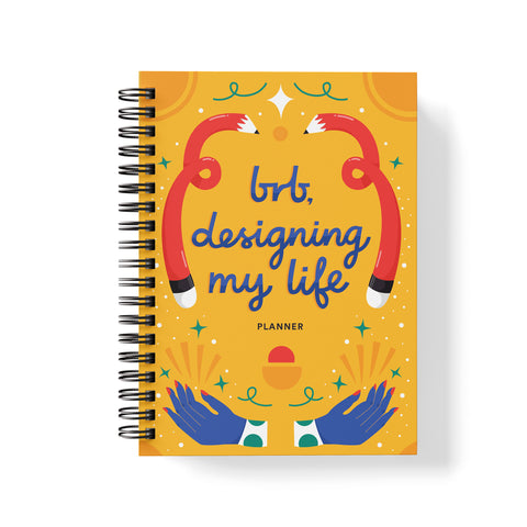PRE-ORDER UNDATED PLANNER - DESIGNING MY LIFE