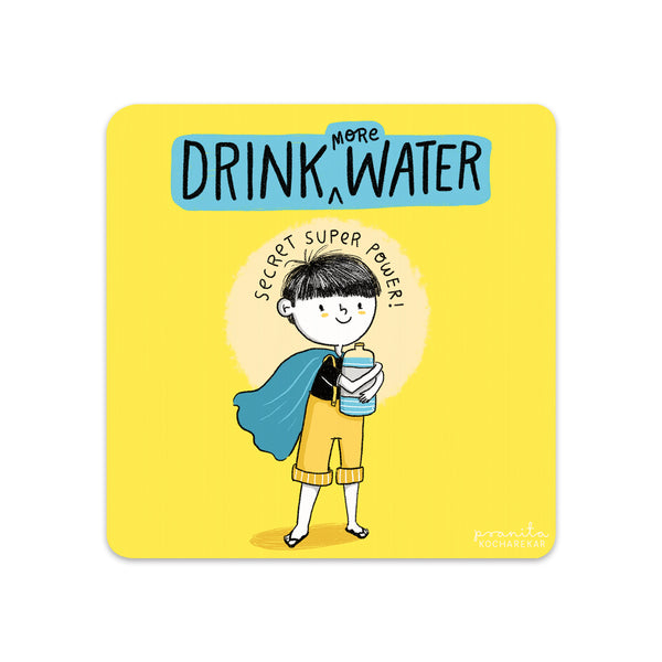 DRINK WATER COASTERS - SET OF 2