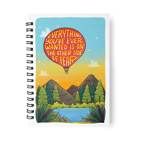 FACING FEARS NOTEBOOK
