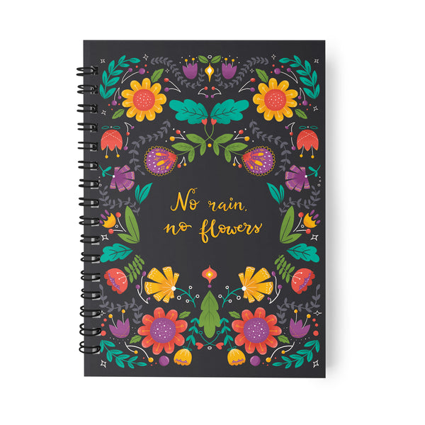 FLORAL TEARS NOTEBOOK
