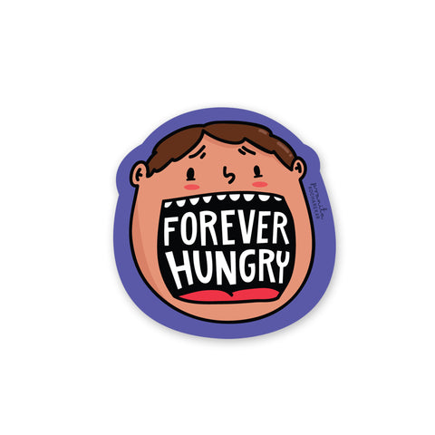 HUNGRY LAPTOP STICKER