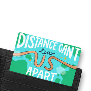 LONG DISTANCE WALLET CARD