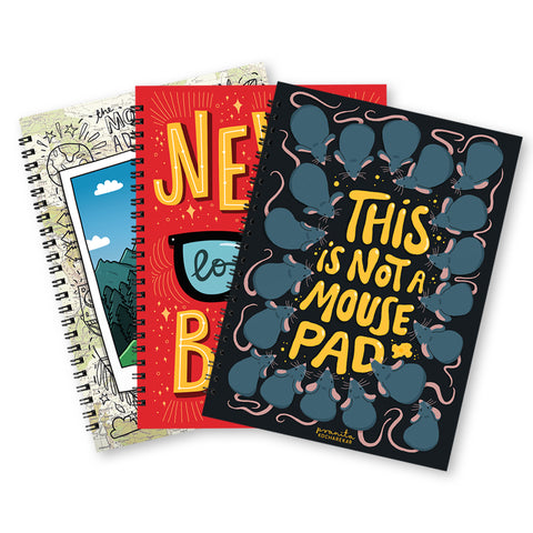 NOTEBOOK BUNDLE SET OF 3